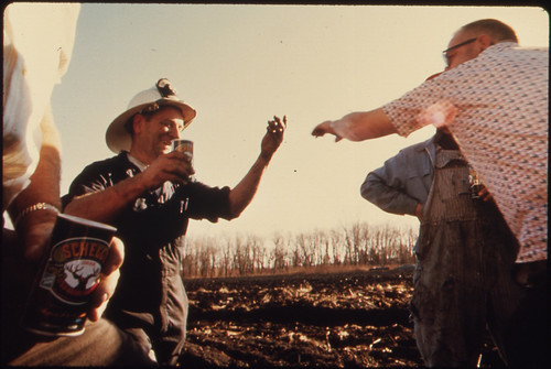 After a Large Brush Fire Was Extinguished, the Grateful Farmer Handed Out Locally Made German-Style Beer ..., 10/1974