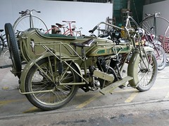 "1921 ""Matchless"" Motorcycle Combination"