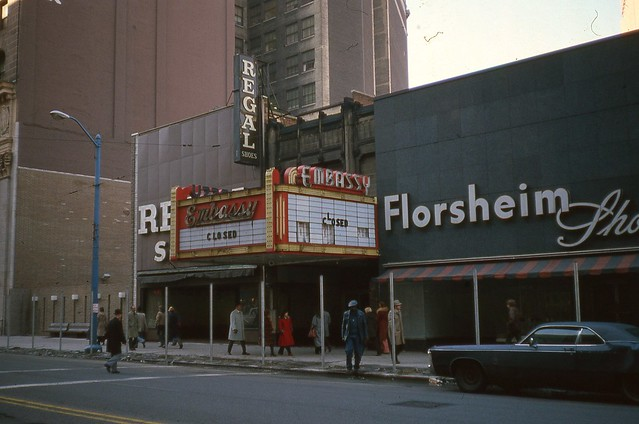 Embassy Theatre Cleveland Ohio Jan 1978