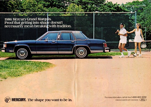 1986 Mercury Grand Marquis Sedan