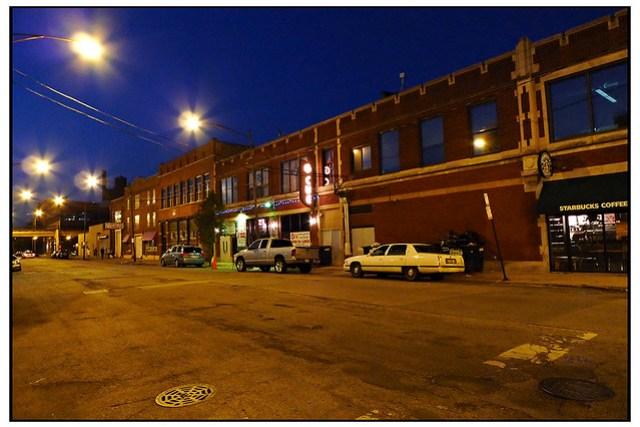 West Loop at Night number 0142