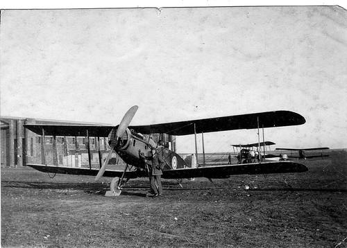 RAF Crail, Scotland 1919. Bristol Fighter