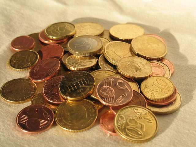 Photo:Euro coins By:24oranges.nl