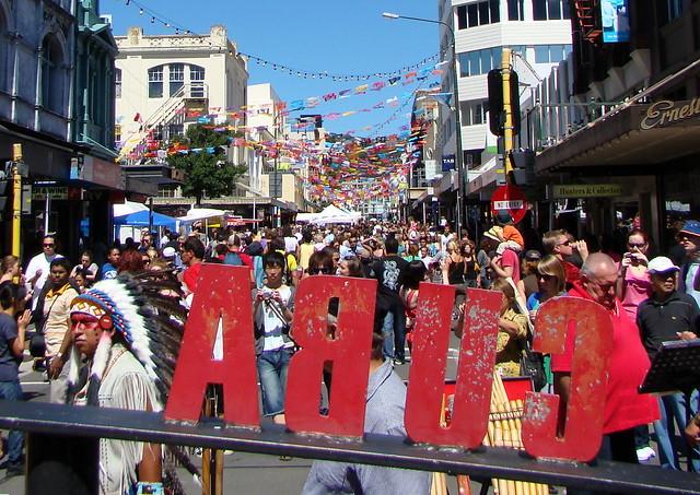The Cuba Street Carnival in Wellington