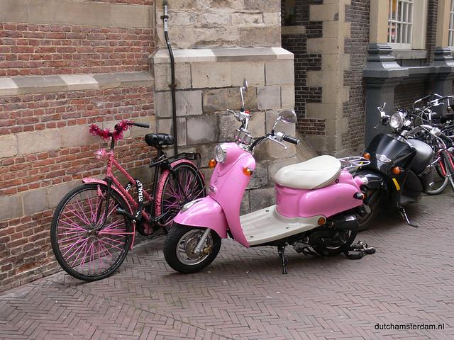 Gay bike?  Lesbian scooter?