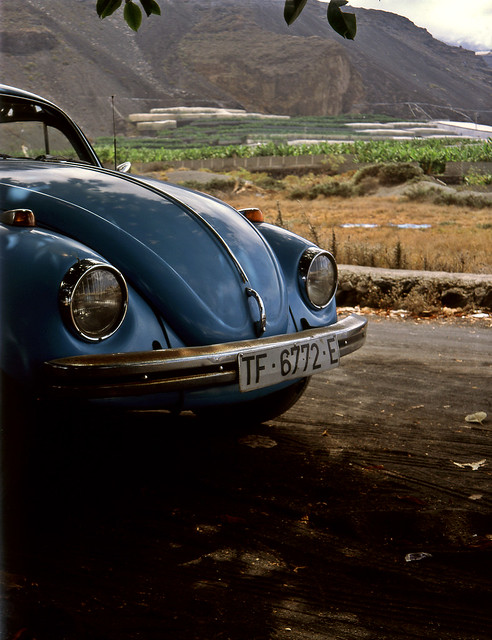 VW Beetle, Puerto Naos, La Palma, Canary Islands