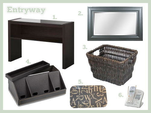 Entryway Mood Board