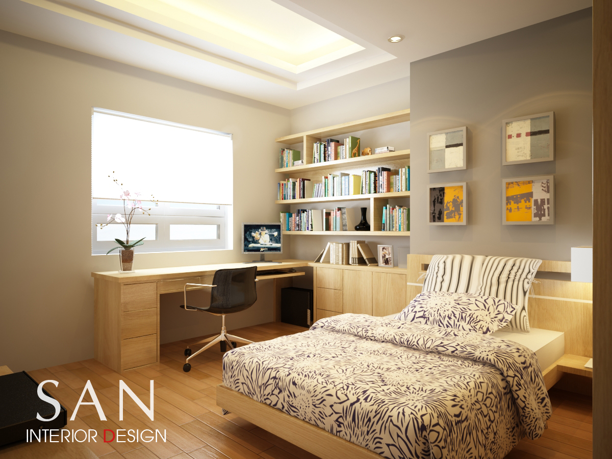 Small Bedroom Day View Interior Design Of Mrs Nga S