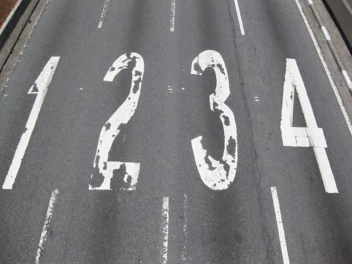 Lane Numbers