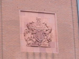Royal Coat of Arms on the Queen Elizabeth II Law Courts
