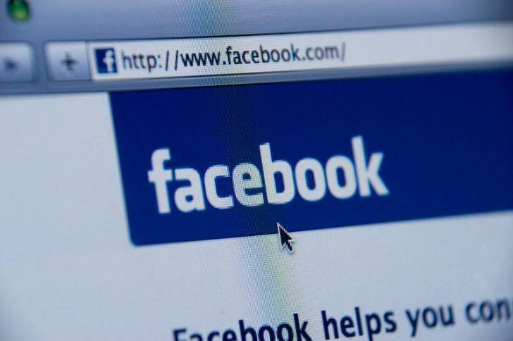 facebook website screenshot
