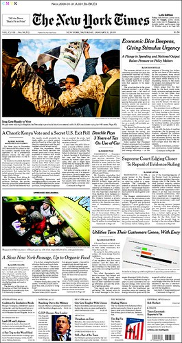 NYTimes 1-31 A Chaotic Kenya Vote and a Secret US Exit Poll