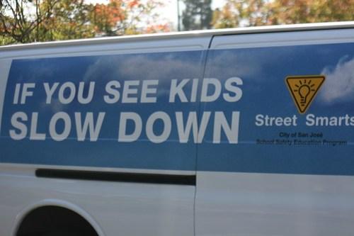 San Jose School Safety program van