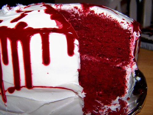 Blood Splatter Cake Explore Zombieflickchick S Photos On