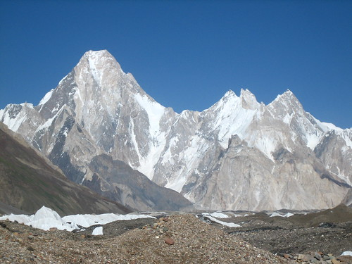 Gasherbrum IV, Karakorum (Trekking Baltoro, Pakistan)