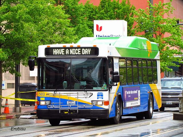 (2011)Pierce Transit Gillig Hybrid #503
