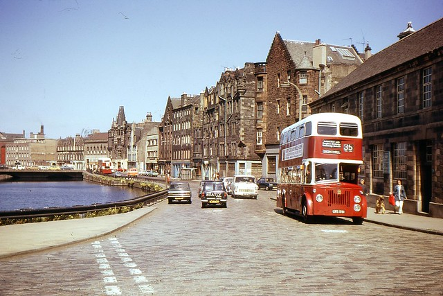 The Shore, Leith, 1974