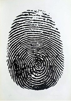Piero Manzoni, Right Thumbprint by Art Images Directory