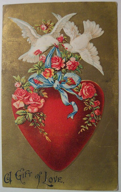 Vintage Valentines Day Postcard Flickr Photo Sharing