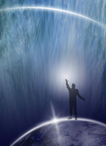 Human being asking Universe...