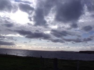 Orkney sky