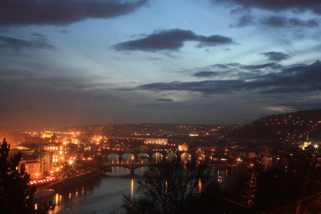 Vltava river from Letna, Praha, Prague, Czech Republic