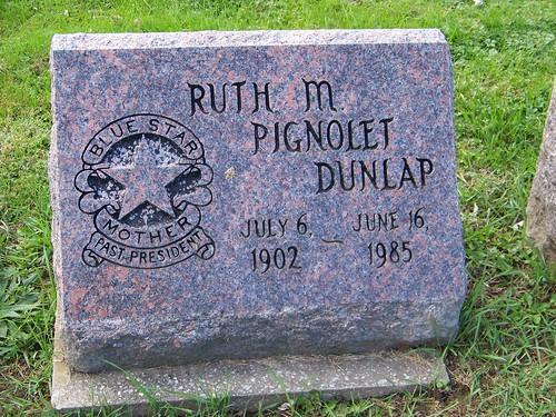 Ruth M. Pignolet Dunlap