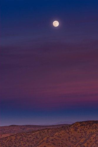 Southern Mojave Moonrise