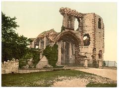 [The castle, Denbigh, Wales] (LOC)