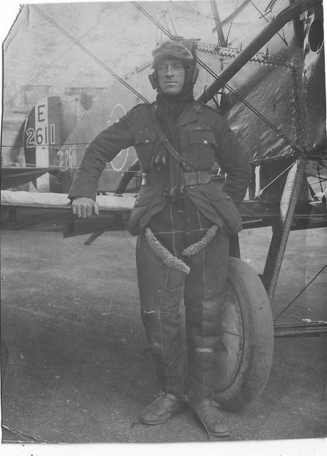 WWI  Bristol Fighter Pilot or Instructor