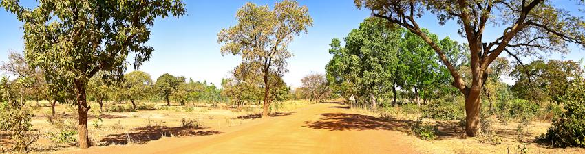 Landschaft Richtung Koudougou
