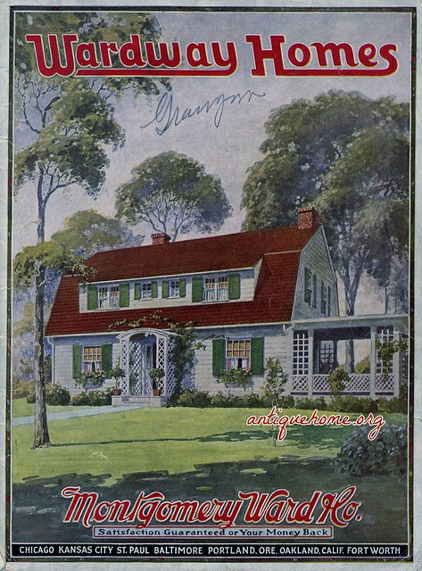 1925 Wardway Homes Kit Houses From The Montgomery Ward
