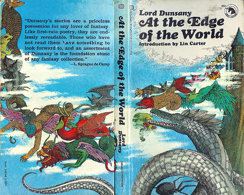At The Edge of the World (Ballantine Adult Fantasy) 1970 AUTHOR: Lord Dunsany ARTIST: Ray Crux