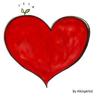 heart-green illustration