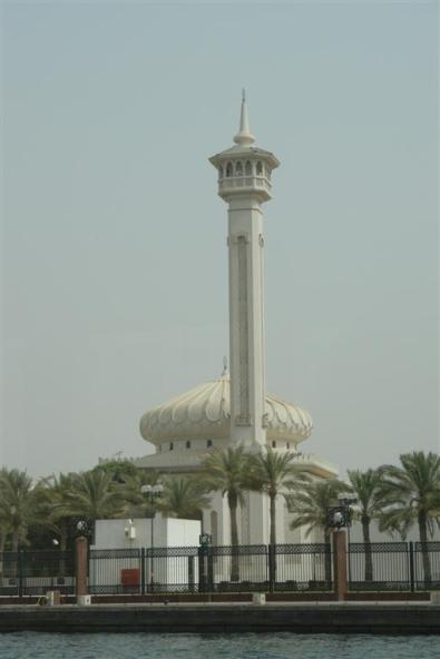 Grand Mosque desde el Creek