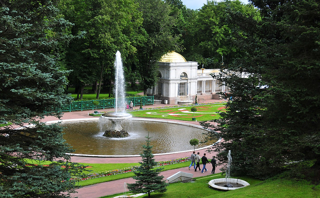 Peterhof Grand Palace Fountain