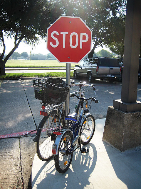 Stop Sign Bikes