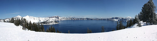 Crater Lake -April 2010