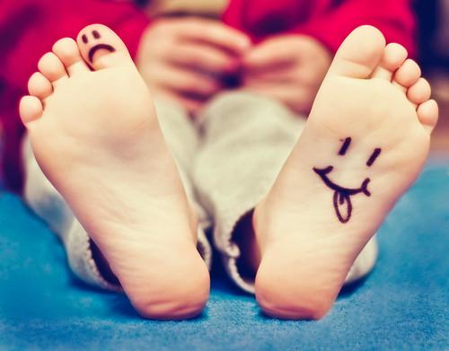 Funny feet