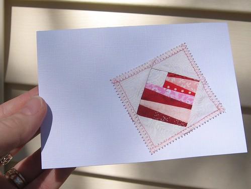 Paper Pieced Valentine tutorial