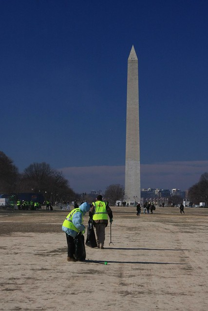The Day After: Cleaning Up After the Inauguration