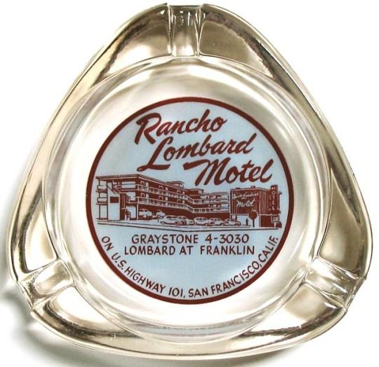 Rancho Lombard Motel - San Francisco, California U.S.A. - date unknown