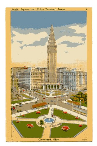 Terminal Tower Postcard