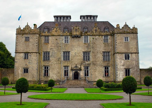 Portumna Castle in County Galway, Ireland