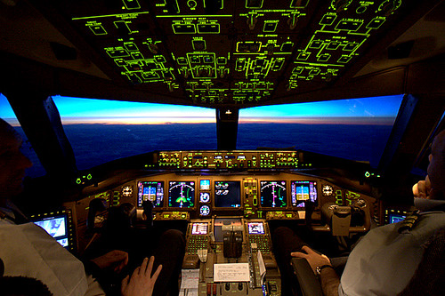In-flight B777
