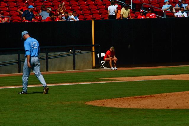 baseball: unc @ nc state