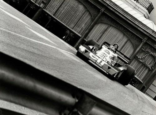 Patrick Depailler. Tyrrell P34. Monaco GP 1977