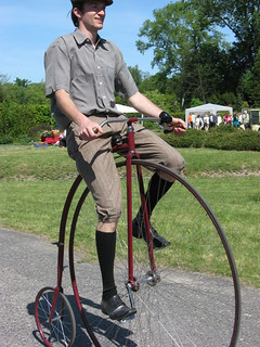 Penny-farthing show