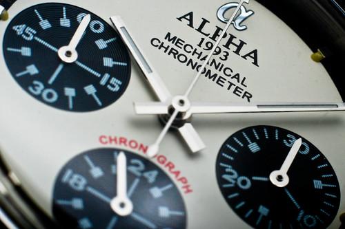 Alpha Daytona Paul Newman dial macro #2