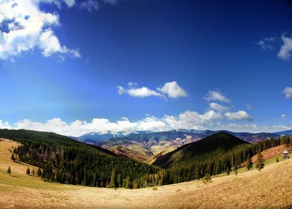 Ukranian Carpathian Mountains